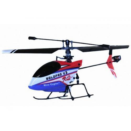 Радиоуправляемый вертолет Nine Eagles Solo Pro V3 4ch 2.4G с гироскопом (20 см)